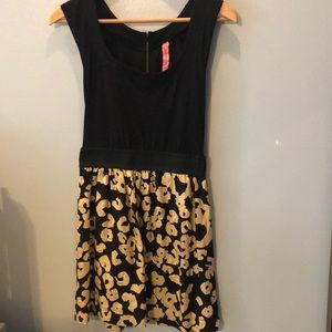 Eight sixty floral and black casual dress size S